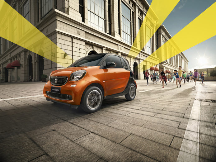 Smart Fortwo, Anke Luckmann, Beijing Eye proction