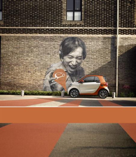 Smart Fortwo, Quentin Shih, Beijing Eye proction