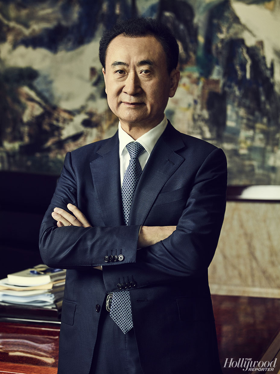 Wang Jianlin for The Hollywood Reporter Cover Story